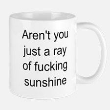 ray of sunshine Small Mugs