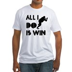All I do is Win Sumo Fitted T-Shirt