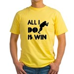 All I do is Win Sumo Yellow T-Shirt