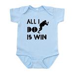 All I do is Win Sumo Infant Bodysuit
