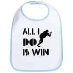 All I do is Win Sumo Bib