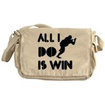 All I do is Win Sumo Messenger Bag