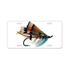 """Fly 2"" Aluminum License Plate"