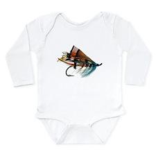 """""""Fly 2"""" Long Sleeve Infant Bodysuit"""