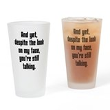 Adult humor Pint Glasses