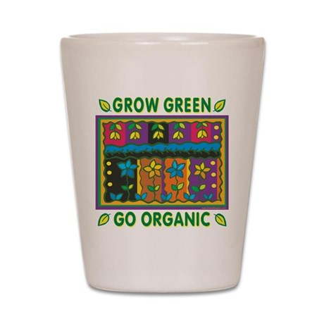 Organic Gardening Shot Glass