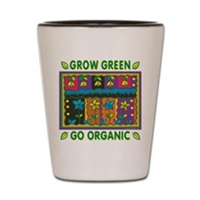 Organic Gardening Shot Glass