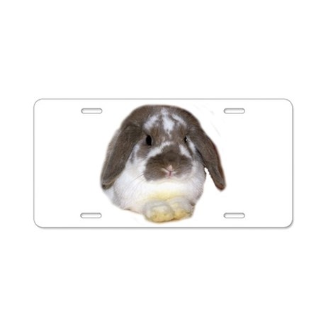 """Bunny 1"" Aluminum License Plate"