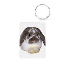"""Bunny 1"" Aluminum Photo Keychain"
