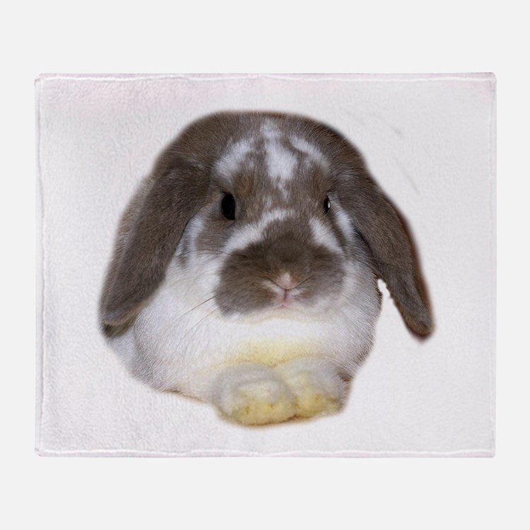 """Bunny 1"" Throw Blanket"