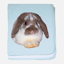 """Bunny 1"" baby blanket"