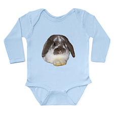 """Bunny 1"" Long Sleeve Infant Bodysuit"