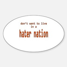 hater nation Decal