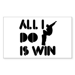 All I do is Win Snowboarding Decal