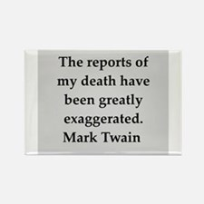 Mark Twain quote Rectangle Magnet (10 pack)