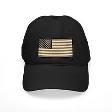 B&W American Flag Baseball Hat