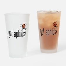 Ladybug - Organic Gardening Drinking Glass