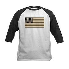 B&W American Flag Tee