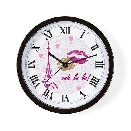 OOH LA LA PARIS Wall Clock