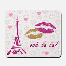 OOH LA LA PARIS Mousepad