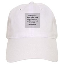 Mark Twain quote Baseball Cap