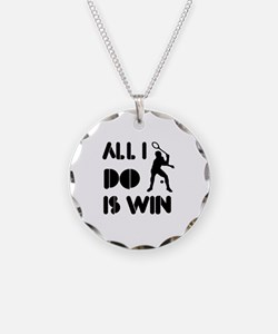 All I do is Win Racquetball Necklace