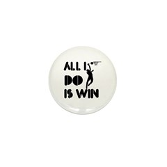 All I do is Win Netball Mini Button (10 pack)