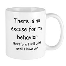 no excuse Mug