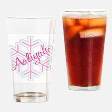 Snowflake Aaliyah Drinking Glass