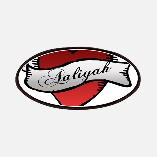 Aaliyah Heart Tattoo Patches