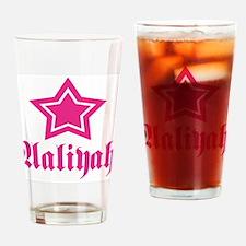 Star Aaliyah! Drinking Glass