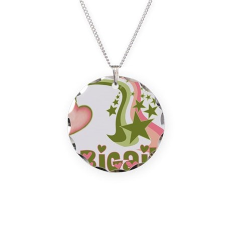 Rainbows & Stars Abigail Pers Necklace Circle