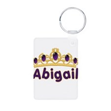 Princess Tiara Abigail Person Keychains