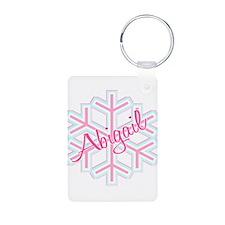 Snowflake Abigail Keychains