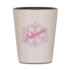 Snowflake Adriana Shot Glass