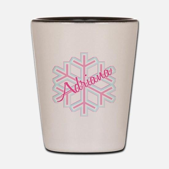 Snowflake Adriana Shot Glass