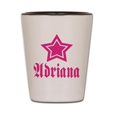 Star Adriana! Shot Glass
