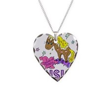 I Dream Of Ponies Ainsley Necklace Heart Charm