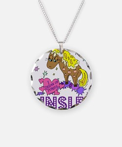 I Dream Of Ponies Ainsley Necklace Circle Charm