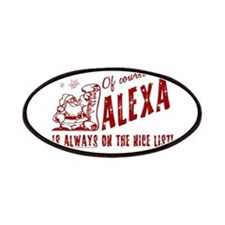 Nice List Alexa Christmas Patches