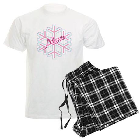 Snowflake Alexa Men's Light Pajamas
