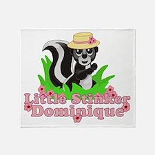 Little Stinker Dominique Throw Blanket