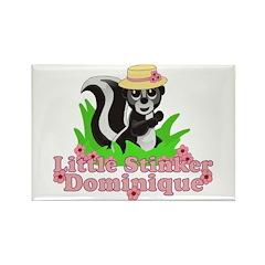 Little Stinker Dominique Rectangle Magnet (10 pack