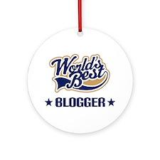 Blogger Gift Ornament (Round)