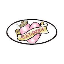 Sweetheart Alexandra Custom P Patches