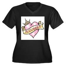 Sweetheart Alexandra Custom P Women's Plus Size V-