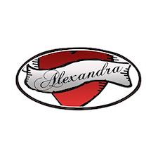 Alexandra Heart Tattoo Patches