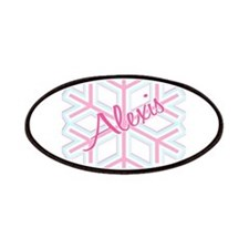 Snowflake Alexis Personalized Patches