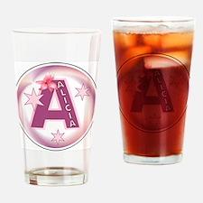 Alicia 1 inch Button Collecti Drinking Glass