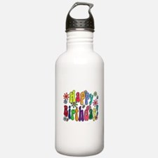 Happy Birthday Water Bottle